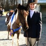Hannah Belle Champions Pony Hunter 2013